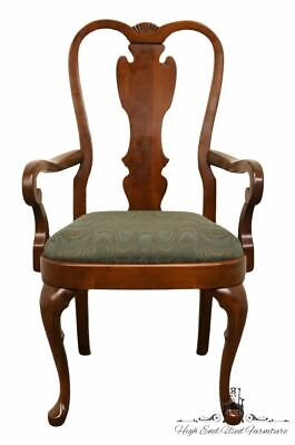 PENNSYLVANIA HOUSE Queen Anne Style Splat Back Dining Arm Chair 18-3121