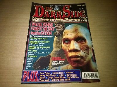 The Dark Side Horror Magazine Issue 9 June 1991 Special Zombie Issue