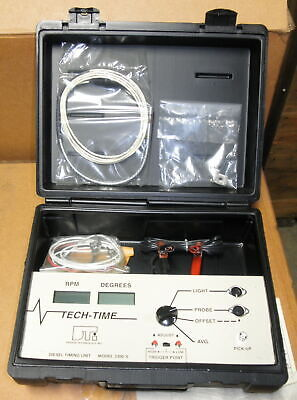 Diesel Tach & Timing Tester DTI 3300-S w/ Case and Instructions 5180-01-186-3114
