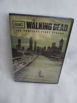 New Retail Sealed AMC The Walking Dead The Complete First Season One 1 DVD