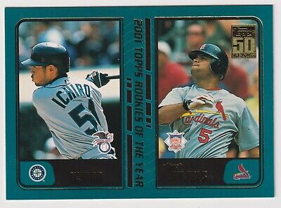 2001 Topps Albert Pujols T247 St Louis Cardinals Roy Rookie