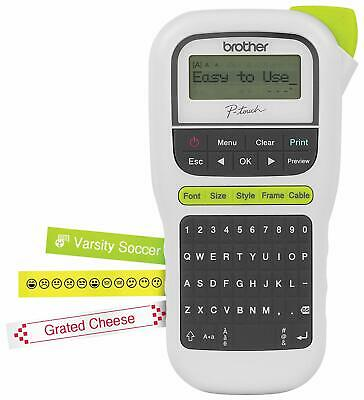 Brother P-touch Portable Label Maker, Lightweight, QWERTY Keyboard, 1-Touch Keys
