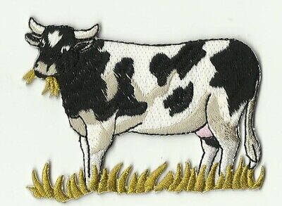 écusson ECUSSON PATCHE PATCH THERMOCOLLANT VACHE DIM. 8 X 6 CMS