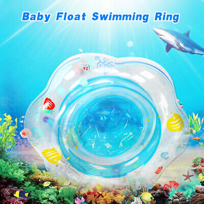 Baby Kids Child Inflatable Float Swimming Ring Trainer Safety Aid Pool Water Toy