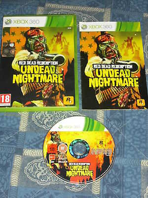 XBOX 360 : RED DEAD REDEMPTION : UNDEAD NIGHTMARE - Completo e in italiano !