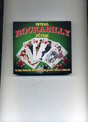 Royal Rockabilly Flush - 50S Johnny Burnette Elvis Eddie Cochran - 3 Cds - New!!