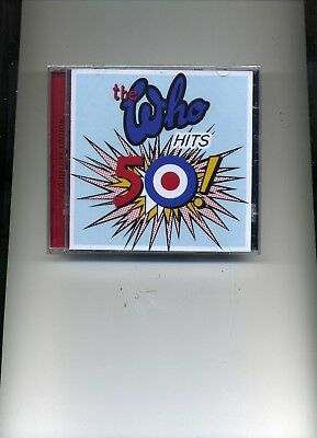 The Who - Hits 50! - 2 Cd Deluxe Edition - 2 Cds - New!!