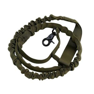 Tactical Police Dog Training Leash Belt Elastic Bungee Canine Military Strap CO