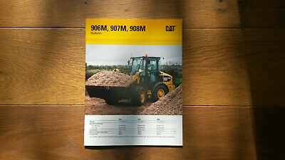 Caterpillar Radlader 906M / 907M / 908M wheel loader, Liebherr*