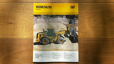 Caterpillar Radlader 950M / 962M, wheel loader, Atlas*