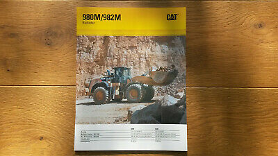 Caterpillar Radlader 980M / 982M, wheel loader, Liebherr*