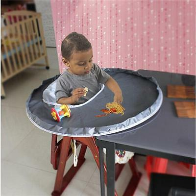 Baby Eating Table Mat Baby Feeding Saucer High Chair Cover For kids Highchair AL