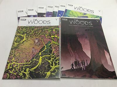 THE WOODS #1-8 (BOOM/James Tynion/TV Show/0615180) COMIC BOOK SET LOT OF 9