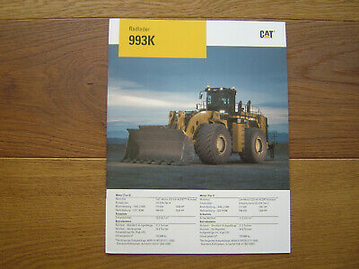 Caterpillar Radlader 993K, wheel loader, mining excavator, shovel