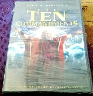"Cecil Demille's :Ten Commandments"" Brand New Sealed"