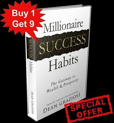 Millionaire Success Habits Ways To Your Success+ 9 FREE ebooks in Bonus with MRR