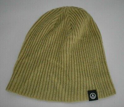 Unisex Mens Neff Lawrence Washed Olive Cuffed Beanie New With Tags NWT