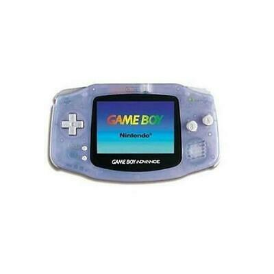 Glacier Nintendo Game Boy Advance Hand-Held System