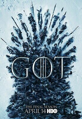 Game Of Thrones poster - 11 x 17 inches - The Final Season