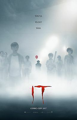 """It movie poster (b) - 11"""" x 17"""" inches - Stephen King (2017) Clown Horror"""