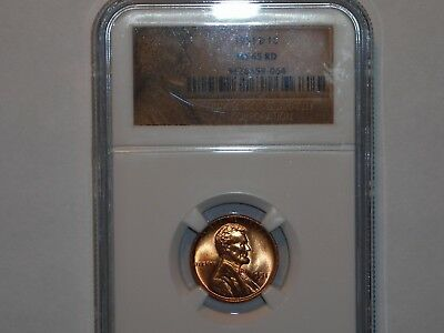 wheat penny 1951D NGC MS65 RD GEM RED BU LOT #1 LINCOLN CENT 1951-D GEM RED UNC