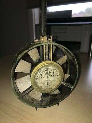rare made in england antique velocity in feet reader