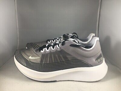 timeless design d6ee1 17f33 Nike Zoom Fly SP running shoes AJ9282 001 Mens Size Grey White