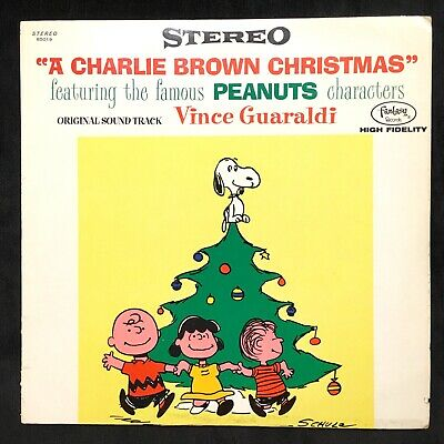 A Charlie Brown Christmas Soundtrack.Vince Guaraldi A Charlie Brown Christmas New Vinyl Lp
