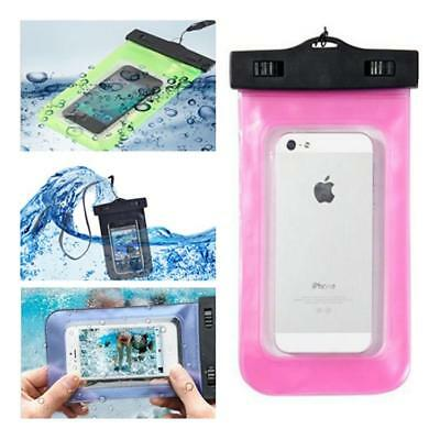 Underwater Waterproof Mobile Phone Camera Case Dry Bag Pouch Swimming Beach BM