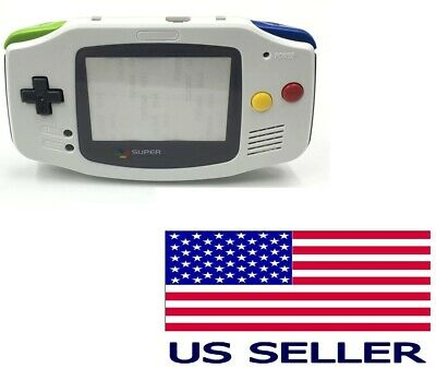 GBA Nintendo Game Boy Advance Replacement Housing Shell Screen SFC SUPER FAMICOM