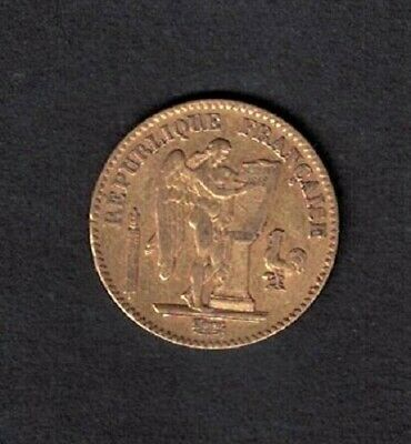 France        20  Francs   Or       Genie          1849  A             Rare