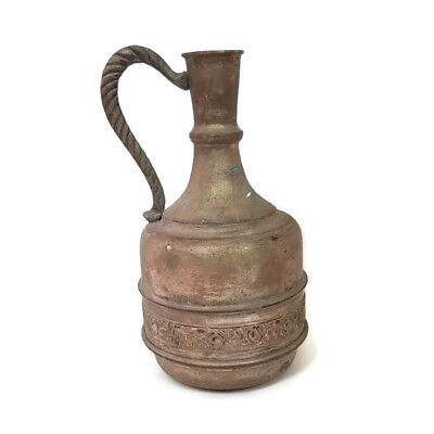 Antique Jug copper Arabic Decorative Home Handmade Brass Collectibles