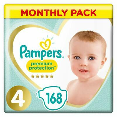Pampers Premium Protection, Monthly Saving Pack, Soft Comfort, Approved by...