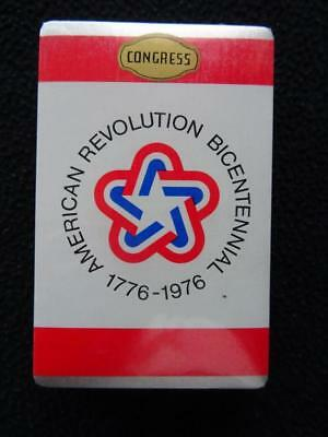 The American Revolution Bicentennial 1976 Playing Cards Vintage 1970s  Congress