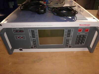 Rosenberger PIM LTE700 AMPS GSM Passive Intermodulation Analyzer IM-0710-BB 1037