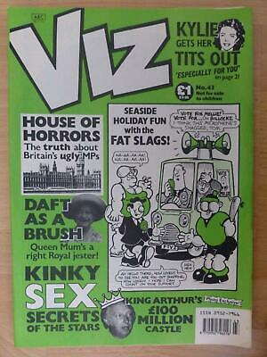Viz Magazine Issue 43 UK Comic - 1990 Aug/Sept Adults Only And Hilarious Fun