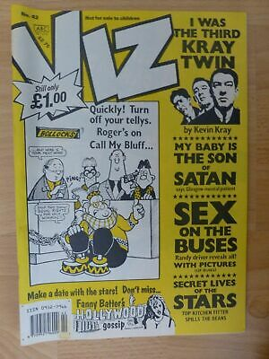 Viz Magazine Issue 42 UK Comic - 1990 June/July Adults Only And Hilarious Fun