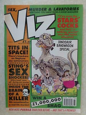 Viz Magazine Issue 61 UK Comic - 1993 Aug/Sept Adults Only And Hilarious Fun