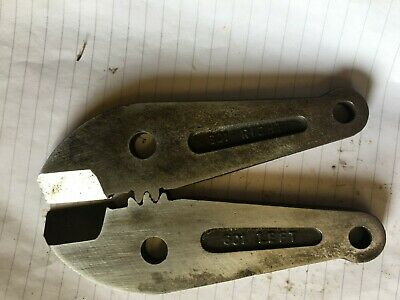 Record 601 Replacement Bolt Cropper Jaws - Made in Sheffield