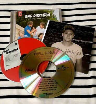 One Direction - While We're Young + Free Niall Horan Tiesto Remix Promo Cd
