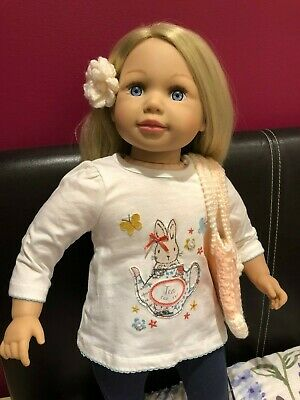 "Sally 24"" Toddler Doll By Zapf Creation. With New Outfit + Accessories."
