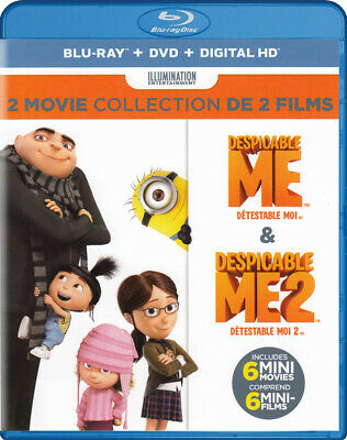 Despicable Me / Despicable Me 2 (2-Movie Collection) (Blu-Ray + Dvd) ( (Blu-Ray)