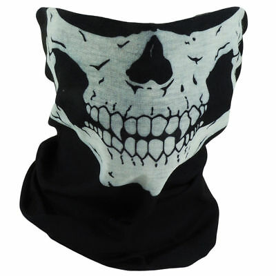 Motorcycle Face Mask Skeleton Skull Bandana Wrap