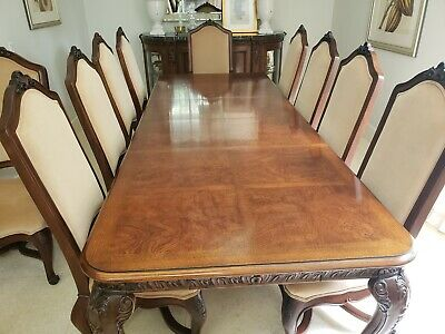 HENREDON DINING ROOM Set with Sideboard Registry Collection ...