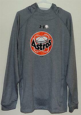 super popular bd376 d3eb3 Houston Astros Official Under Armour Astrodome LOGO Gray Sweatshirt Hoodie
