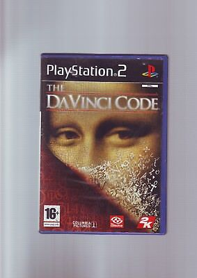 The Da Vinci Code - Sony Playstation Ps2 Game Of Film Movie- Original & Complete