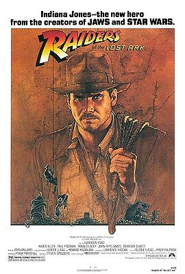Raiders Of The Lost Ark movie poster (a) : 11 x 17 inches - Indiana Jones Poster