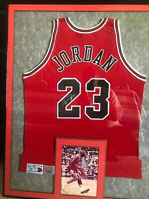 promo code db66c 2ea7d MICHAEL JORDAN GAME Worn Then Autographed Jersey 95-96 Best Season Of All