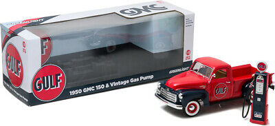 Greenlight Collectibles 12984 1:18 1950 GMC 150 Pickup Gulf Oil