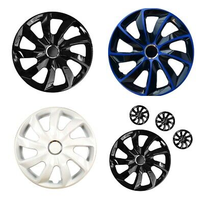 "Wheel Covers Hub Caps Inch Universal Wheel Trims ABS 14"" 15"" 16"" [VARY Colours]"